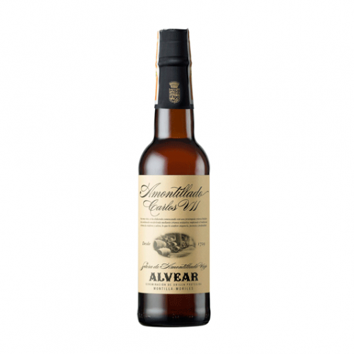 AMONTILLADO CARLOS VII ALVEAR MEDIA BOTELLA